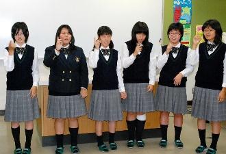 高浜高等学校制服画像