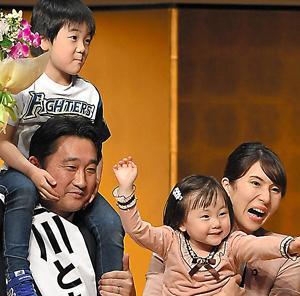 鈴木 知事 家族
