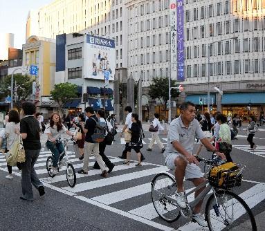 自転車の 自転車 歩行者 事故 賠償金 : 夕刻は歩行者に混じって自転車 ...