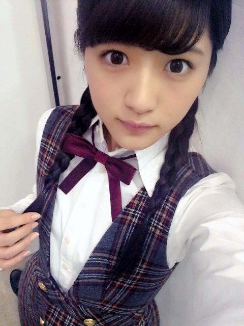若月佑美さんの自撮り
