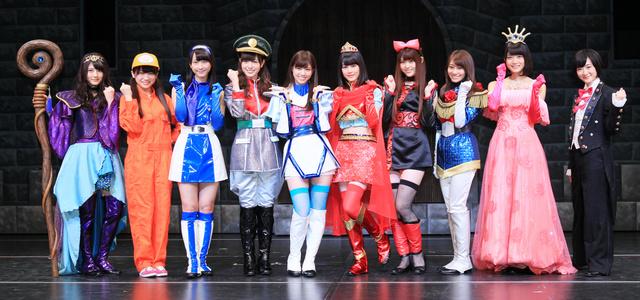 乃木坂46の舞台「16人のプリンシパル」が初日