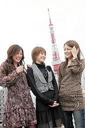 モーニング娘。の中澤裕子さん、高橋愛さん、石川梨華