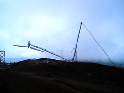 倒せる風車