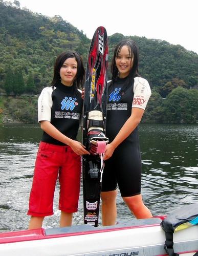 水上スキー、高校では全国唯一 大分・中津南高耶馬渓校