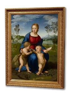 ルネサンス名画を超高精細で再現 「ウフィツィ・バーチャル・ミュージアム展」が19日まで会期延長