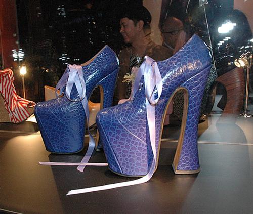 ナオミ キャンベル 靴