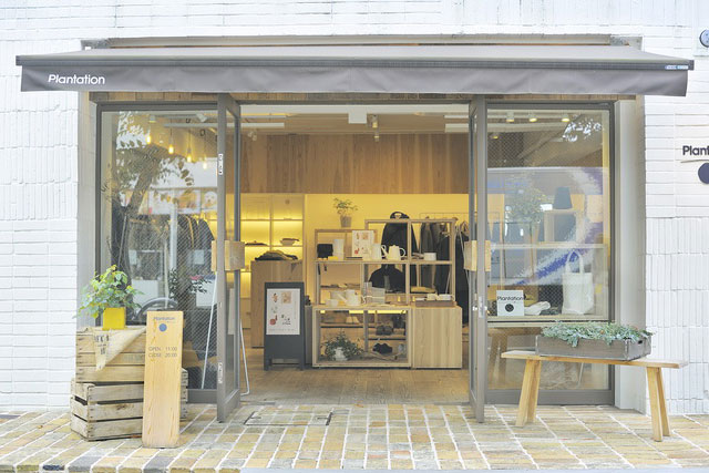 「プランテーション」とデザイナー小泉誠さんの幸福な出会い