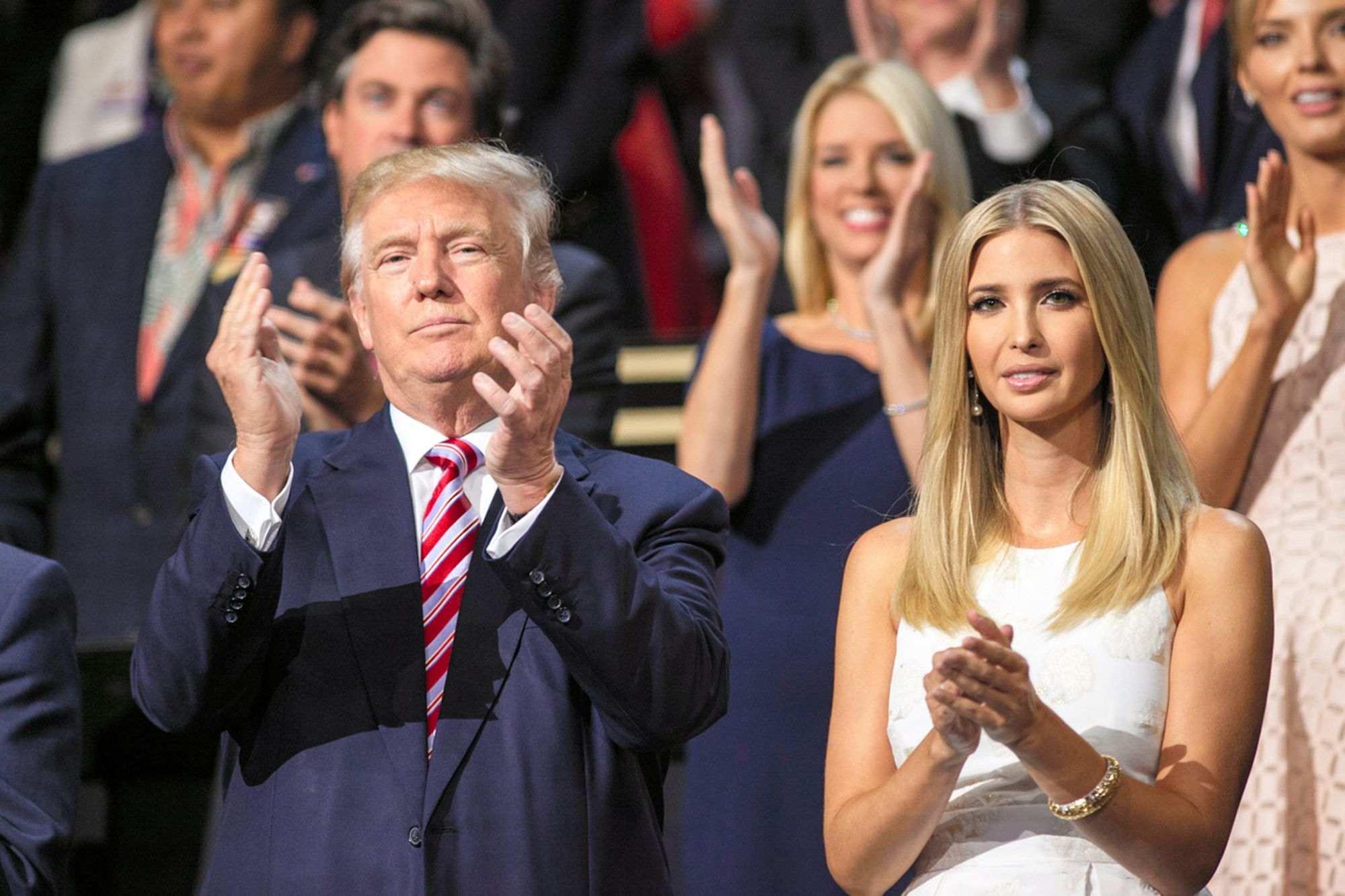 父と娘】共和党全国大会で、自分...