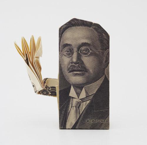 ハート 折り紙:千円折り紙折り方-asahi.com