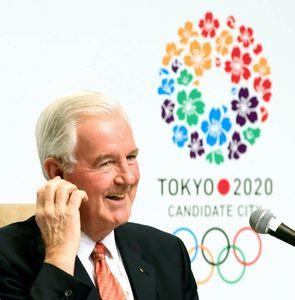 東京の五輪招致「熱意感じた」 IOC評価委員長
