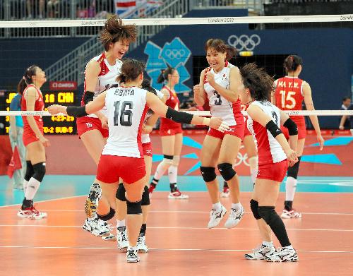2012年ロンドンオリンピックのバレーボール競技・女子決勝
