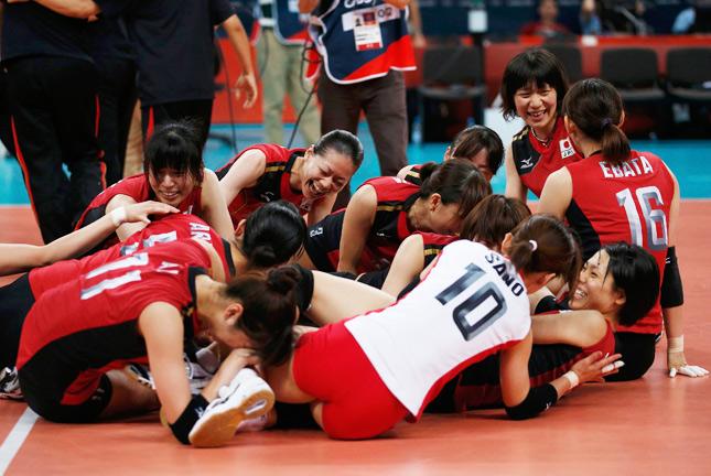 日本女子バレーボール代表選手の一覧