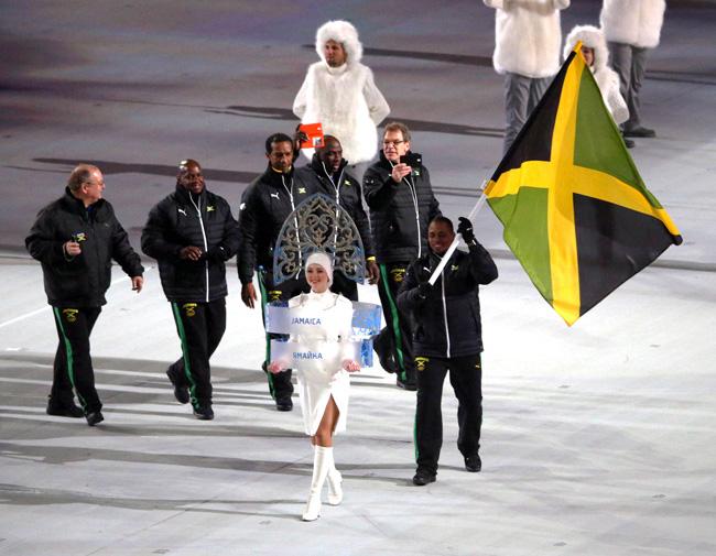 オリンピックのジャマイカ選手団