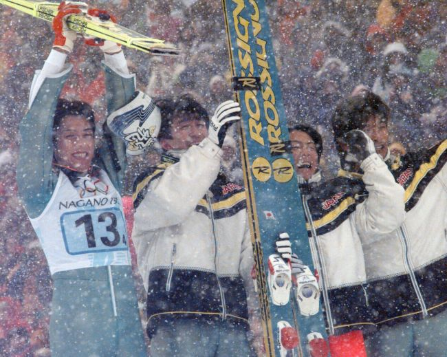 写真特集 - 長野冬季五輪スキー...