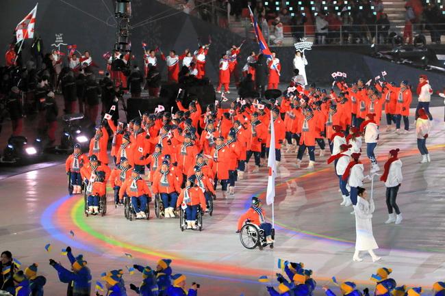 パラリンピック 開会 式