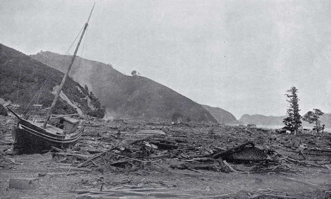 朝日新聞デジタル:大津波に襲われた三陸海岸 1896年9月号 ELIZA R ...
