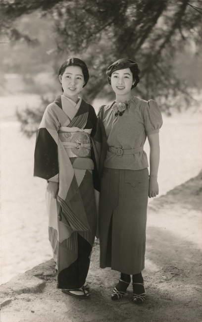 朝日新聞デジタル:着物、洋服を着た日本女性 1938年1月号 MARY A ...