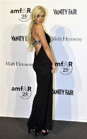 : 11月7日、米女優リンジー・ローハンが、米男性娯楽誌「プレイボーイ」...  11月7日、米