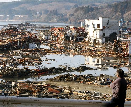 東日本大震災の画像