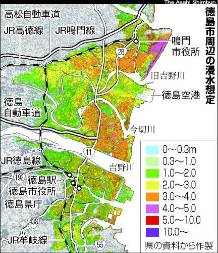 地震 徳島