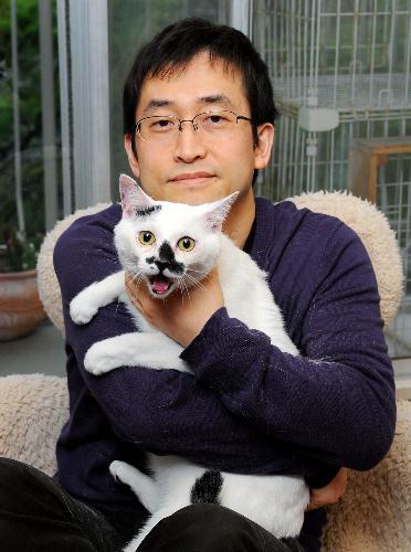 (かぞくの肖像)伊藤潤二さんとてんまる