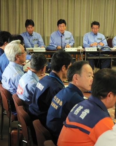 南海トラフ想定し情報伝達訓練 国や東海4県など参加