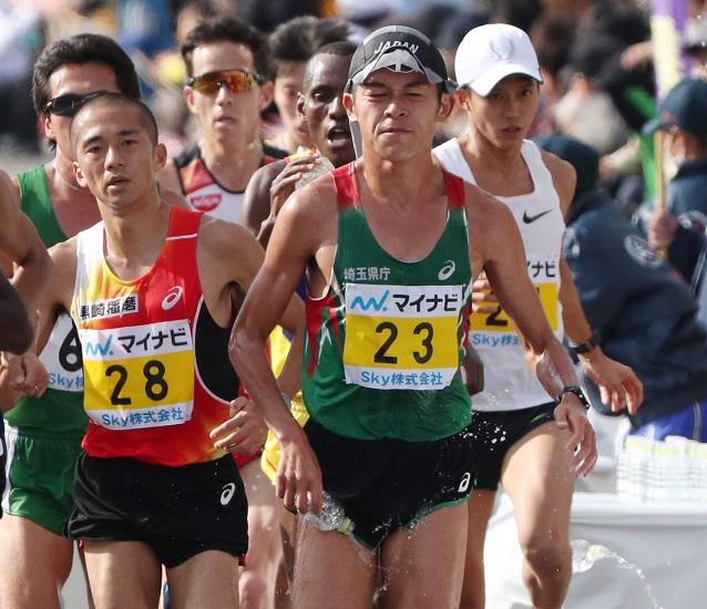 第72回福岡国際マラソン、12月2日号砲