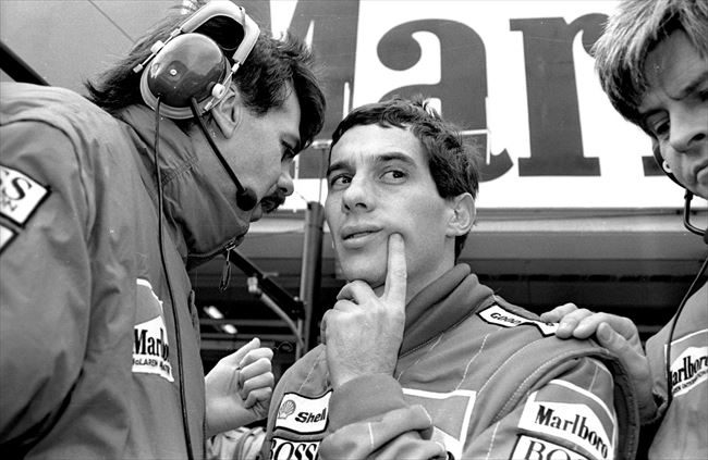 1988年の日本グランプリで、マク...