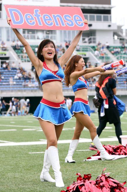 アメリカンフットボールXリーグ・フォトギャラリー(チアリーダー編)〈CENTRAL〉 東京ガスクリエイターズ