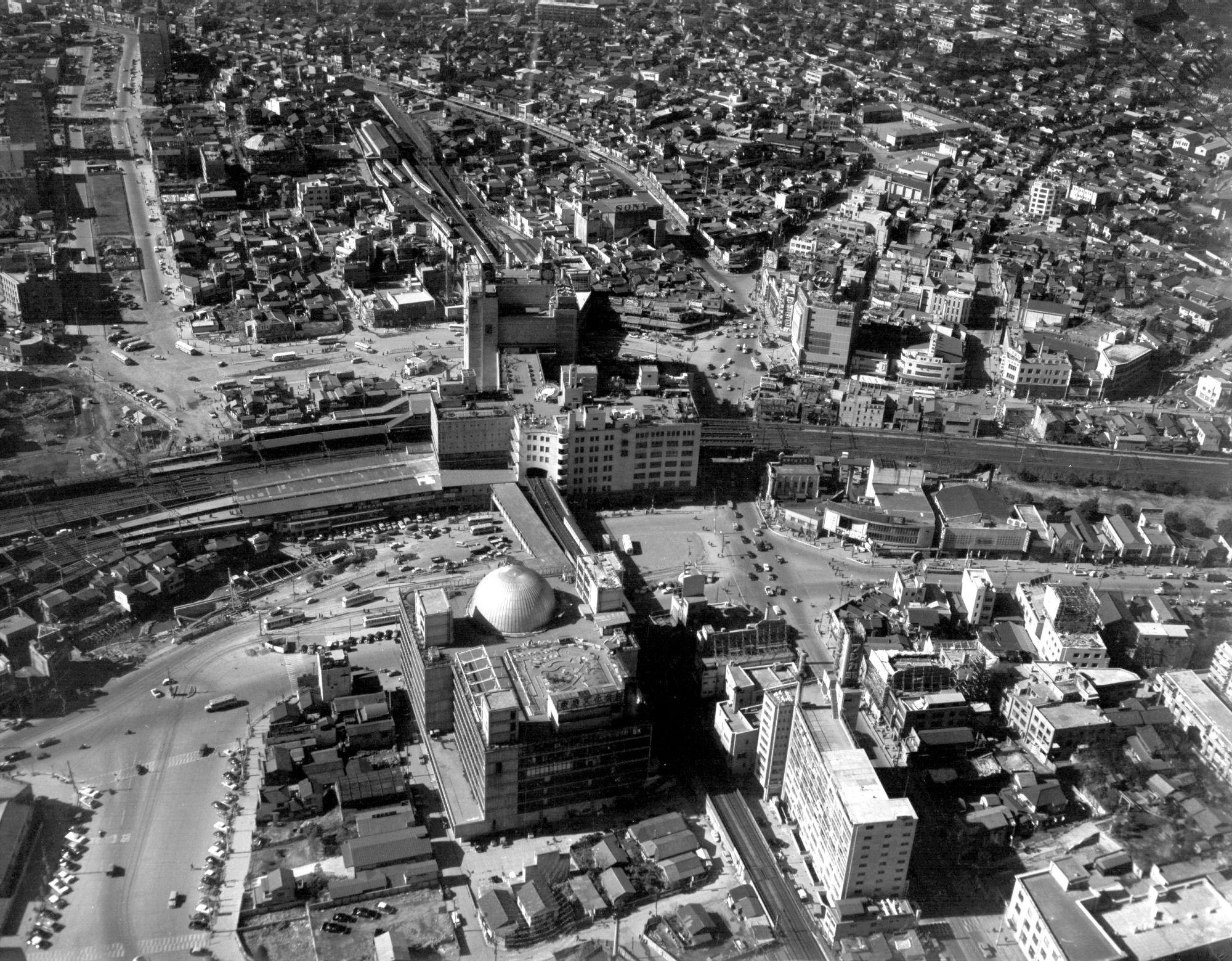 1961年2月当時の東京都渋谷区の渋谷駅周辺(13/29)-変わる銀座 ...