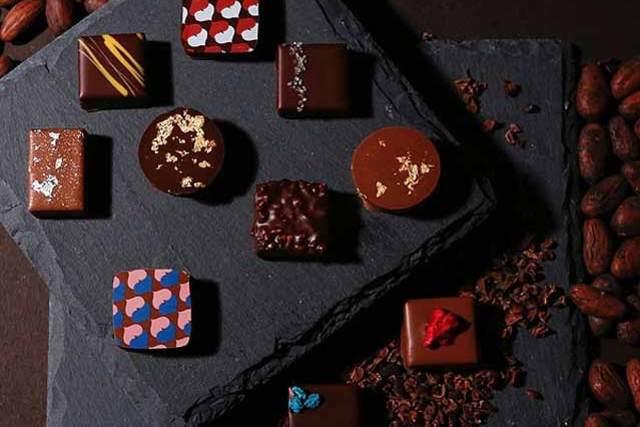 日本人ショコラティエと和素材のマリアージュ