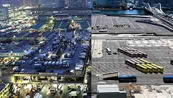 築地市場 解体の記録