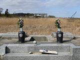 お墓は語る 福島のいま