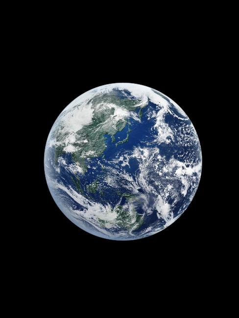 朝日新聞デジタル:【地球】生命を宿す水の惑星、地球。青は海、白は雲 ...