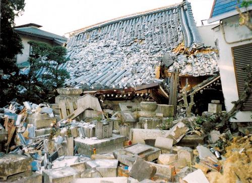 asahi.com(朝日新聞社):復興ようやく 阪神大震災で全壊の寺、16年 ...